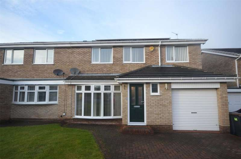 4 Bedrooms Semi Detached House for sale in Ouston