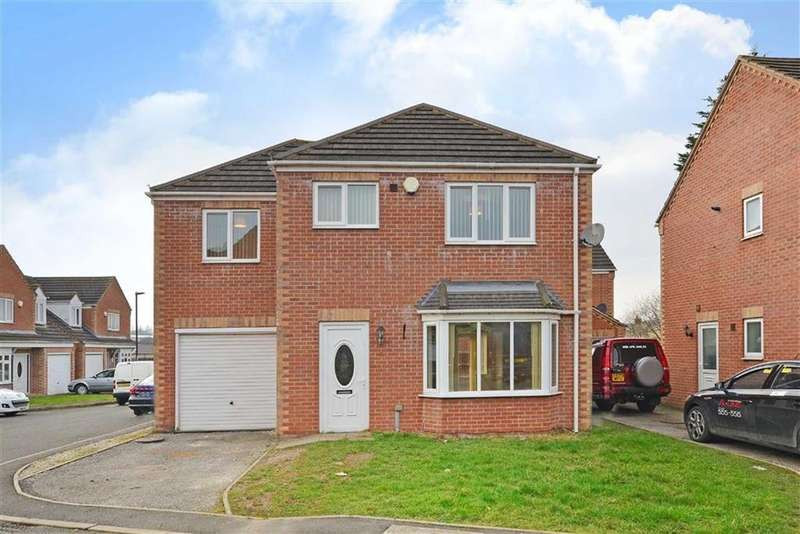 4 Bedrooms Detached House for sale in 8, Corner Pin Close, Staveley, Chesterfield, Derbyshire, S43