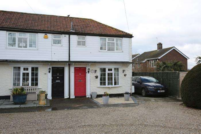 2 Bedrooms End Of Terrace House for sale in COOPERS HILL, MARDEN ASH, ONGAR CM5