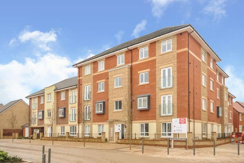 2 Bedrooms Flat for sale in Whitebeam Court, Great Western Park, Didcot, OX11