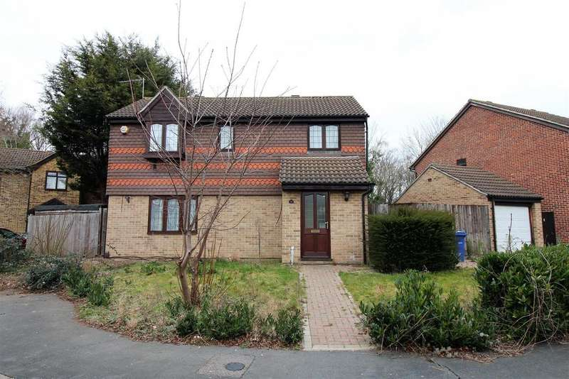 4 Bedrooms Detached House for sale in Harrap Chase, Badgers Dene, Grays
