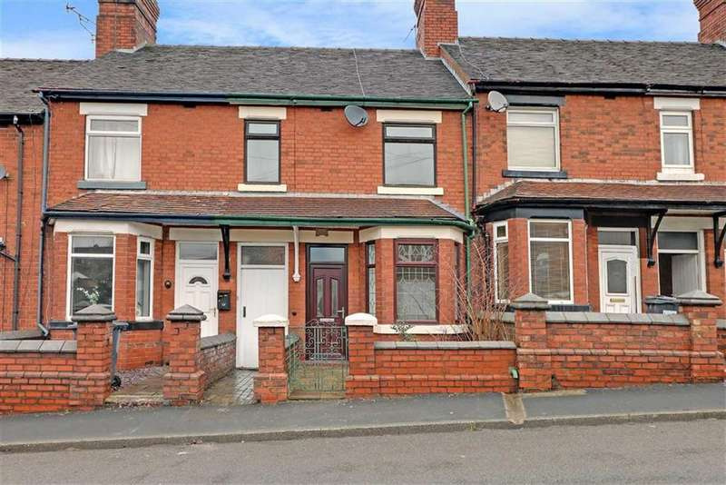3 Bedrooms Terraced House for rent in New Road, Bignall End