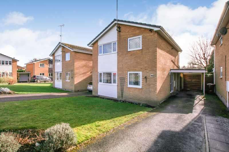 4 Bedrooms Detached House for sale in 11 Hawkshead Avenue, Dronfield Woodhouse, Derbyshire S18 8NB