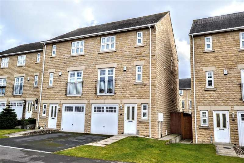 4 Bedrooms Town House for sale in Gresford Close, Woolley Grange, Barnsley, S75 5QR