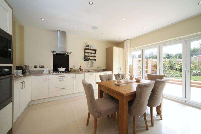 4 Bedrooms Detached House for sale in THE MARLOW, BRINDLEY PARK, CHELLASTON