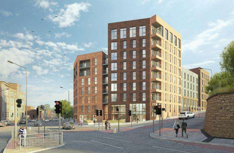1 Bedroom Apartment Flat for sale in Great New Development In Sheffield