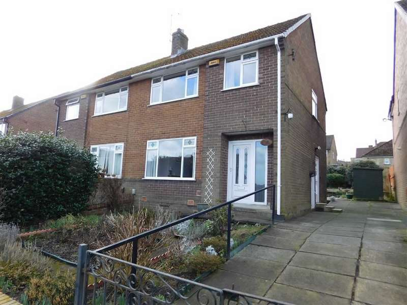 3 Bedrooms Semi Detached House for sale in Manse Drive, Cowlersley, Huddersfield