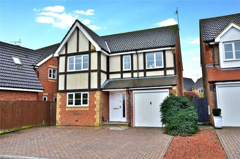4 Bedrooms Detached House for sale in Dowding Way, Watford, Hertfordshire, WD25