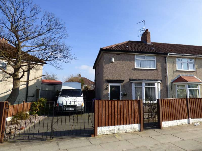 2 Bedrooms End Of Terrace House for sale in Fairford Crescent, Liverpool, Merseyside, L14