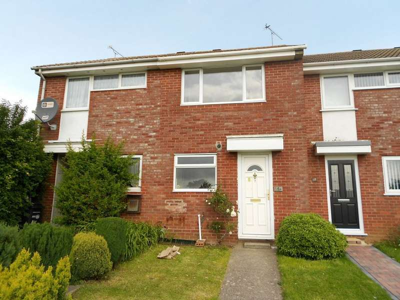 2 Bedrooms Terraced House for sale in Runnymede Road, Yeovil BA21