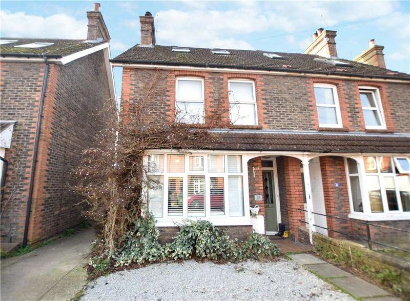 3 Bedrooms Semi Detached House for sale in Swindon Road, Horsham, West Sussex, RH12