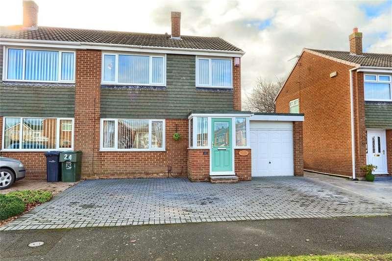 3 Bedrooms Semi Detached House for sale in Amesbury Crescent, Hemlington