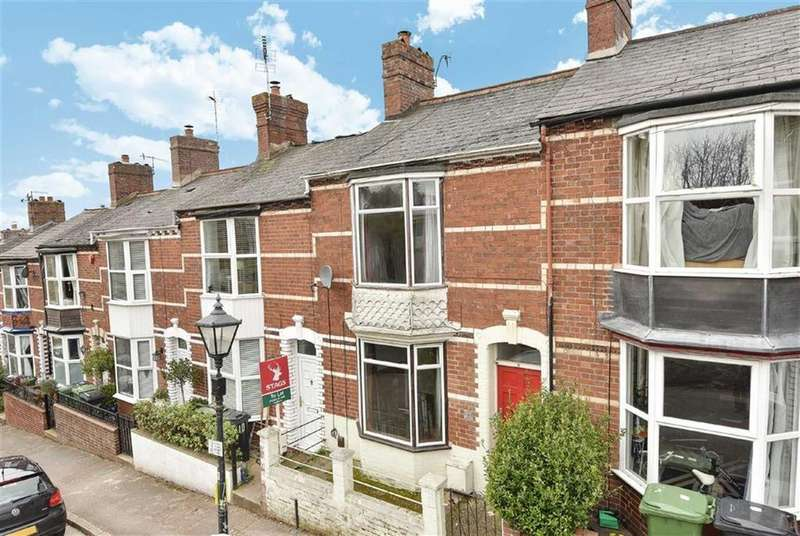 3 Bedrooms Semi Detached House for sale in Weirfield Road, St Leonards, Exeter, Devon, EX2