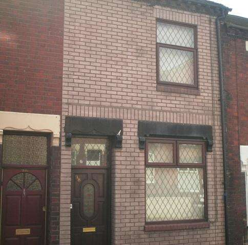2 Bedrooms Terraced House for sale in NASH PEAK STREET, TUNSTALL, STOKE-ON-TRENT