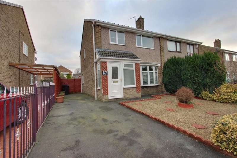 3 Bedrooms Semi Detached House for sale in Carlbury Avenue, Acklam