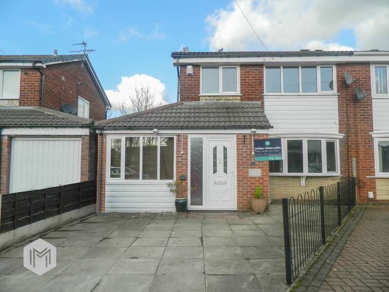4 Bedrooms Semi Detached House for sale in Wilton Gardens, Radcliffe, Manchester, M26