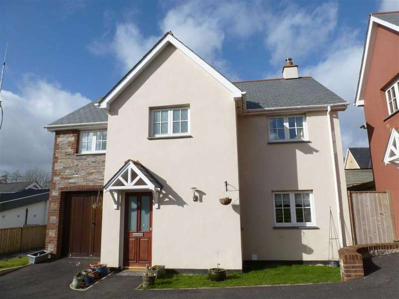 4 Bedrooms Detached House for rent in Stoneybrook Rise, Okehampton, Devon