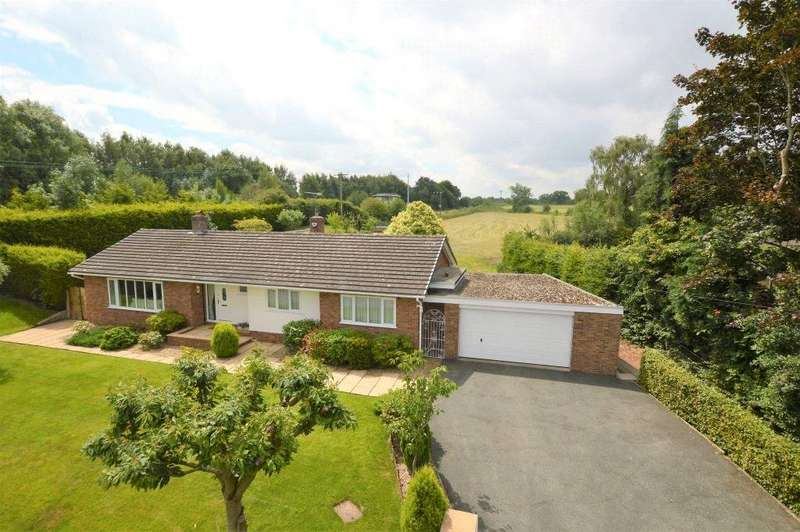 4 Bedrooms Detached Bungalow for sale in Station Lane, Mickle Trafford, Chester, CH2