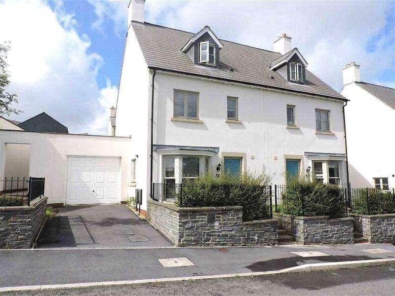 4 Bedrooms Semi Detached House for sale in Heathland Way, Llandarcy, Neath, Neath Port Talbot.