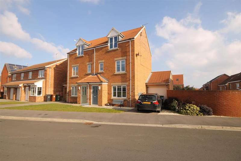 3 Bedrooms Semi Detached House for sale in Silverbirch Road, Bishop Cuthbert, Hartlepool