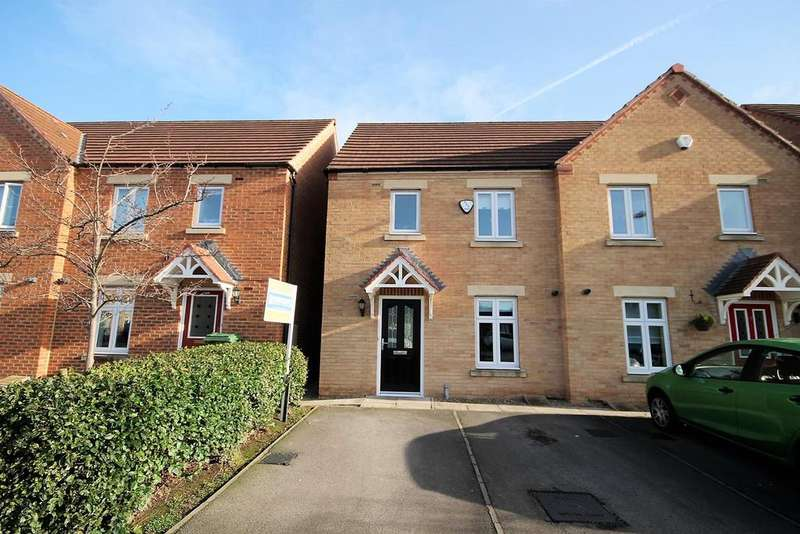 3 Bedrooms Semi Detached House for sale in Red Admiral Close, Stockton