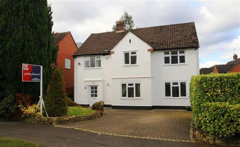 4 Bedrooms Detached House for sale in Kings Road, Pownall Park, Wilmslow