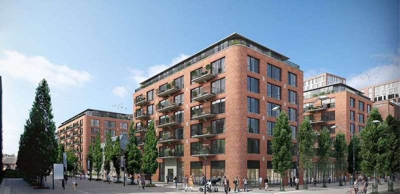 1 Bedroom Flat for sale in Pavillion Square, Royal Arsenal Riverside SE18