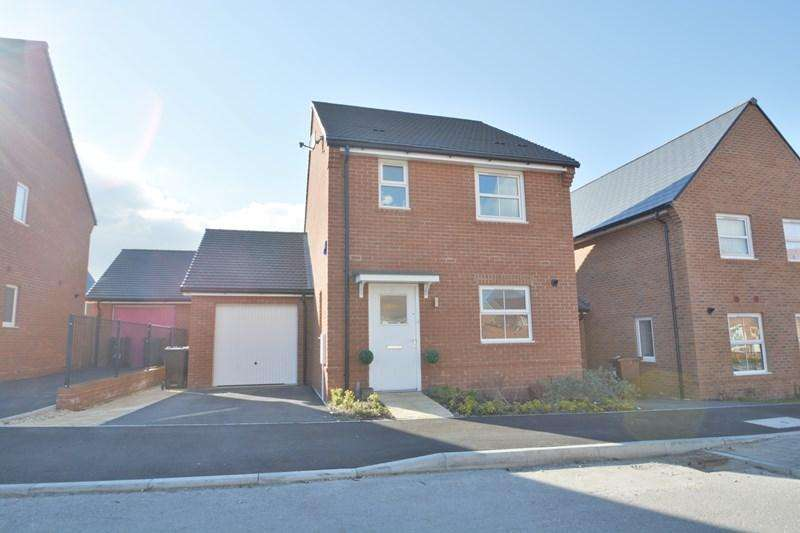 3 Bedrooms Link Detached House for sale in Fuller Way, Andover