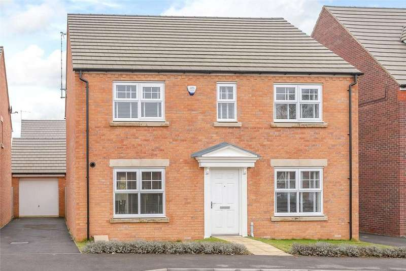 4 Bedrooms Detached House for sale in Carr Road, Moulton, Northampton, Northamptonshire, NN3