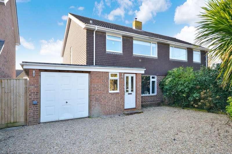 3 Bedrooms Semi Detached House for sale in Firmount Close, Everton, Lymington