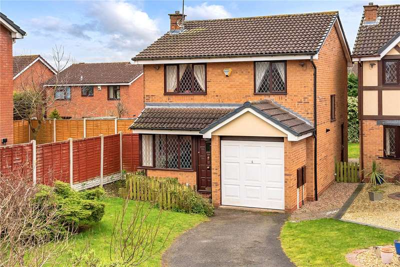 3 Bedrooms Detached House for sale in 12 Jay Drive, Apley, Telford, TF1