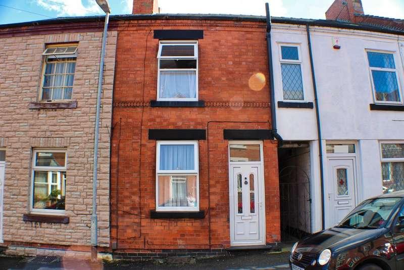 3 Bedrooms Terraced House for sale in Bentinck Street, Hucknall NG15