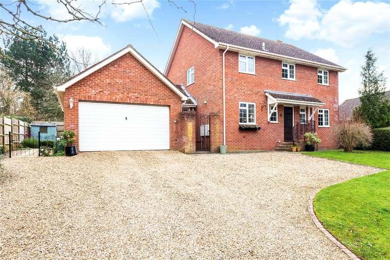 4 Bedrooms Detached House for sale in Saxonhurst, Downton, Salisbury, Wiltshire, SP5