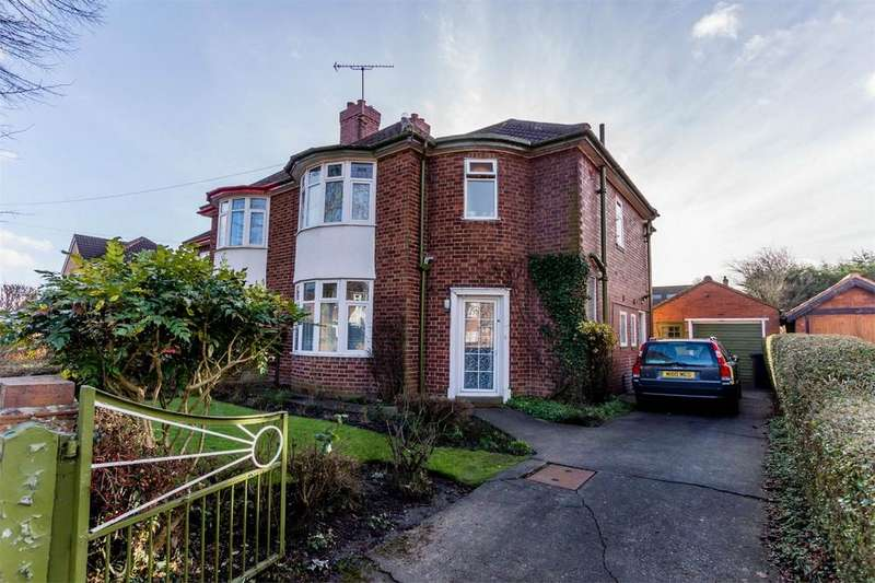 3 Bedrooms Semi Detached House for sale in Fellbrook Avenue, YORK