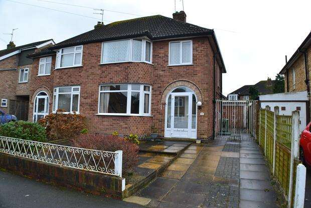 3 Bedrooms Semi Detached House for sale in Ruskington Drive, Wigston Fields, Leicester, LE18