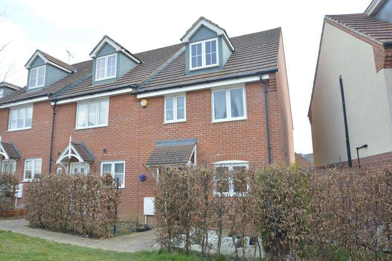 3 Bedrooms End Of Terrace House for sale in Beltex Walk, Andover