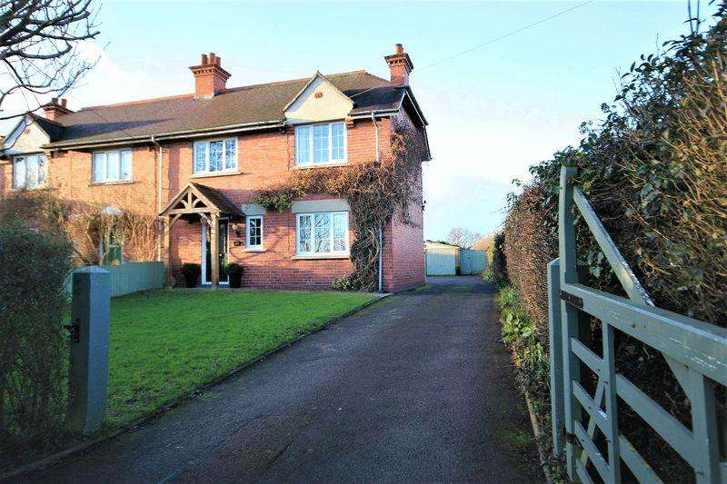 3 Bedrooms Semi Detached House for sale in Kidnal, Malpas