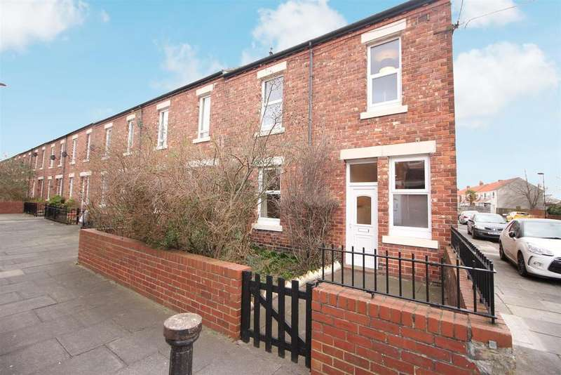 3 Bedrooms End Of Terrace House for sale in Oswin Avenue, Newcastle Upon Tyne