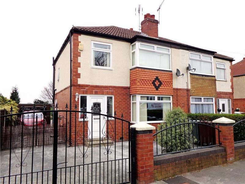 3 Bedrooms Semi Detached House for sale in Cross Heath Grove, Beeston, Leeds