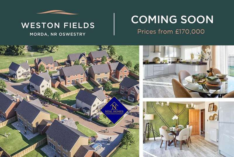 4 Bedrooms Detached House for sale in Weston Fields, Morda, Oswestry