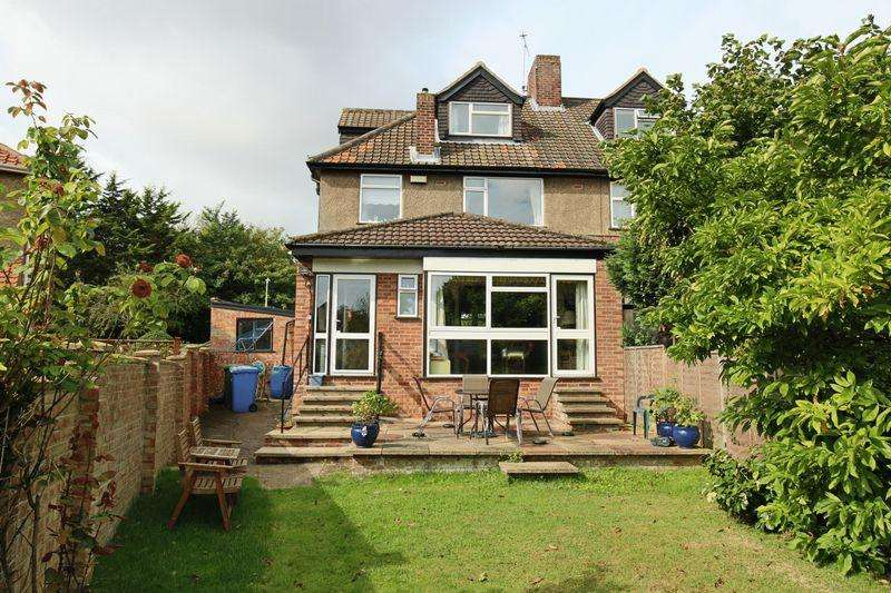 4 Bedrooms Semi Detached House for sale in Grayson Drive, Lowestoft