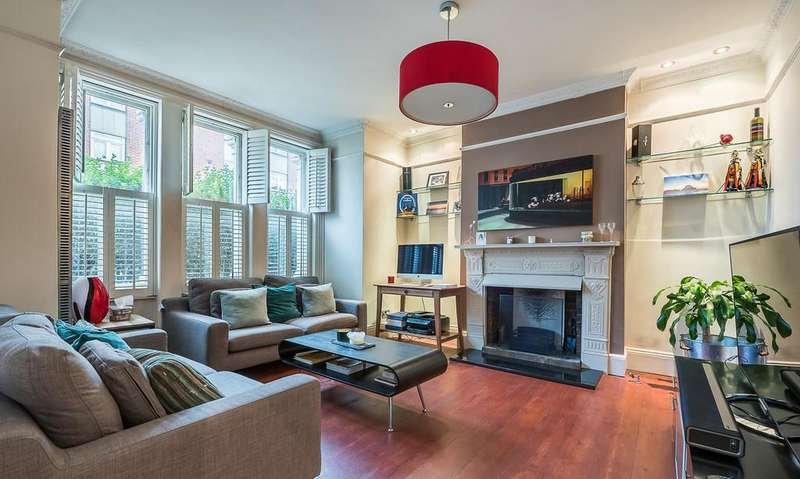 2 Bedrooms Ground Flat for sale in Latchmere Road, Battersea, London, SW11