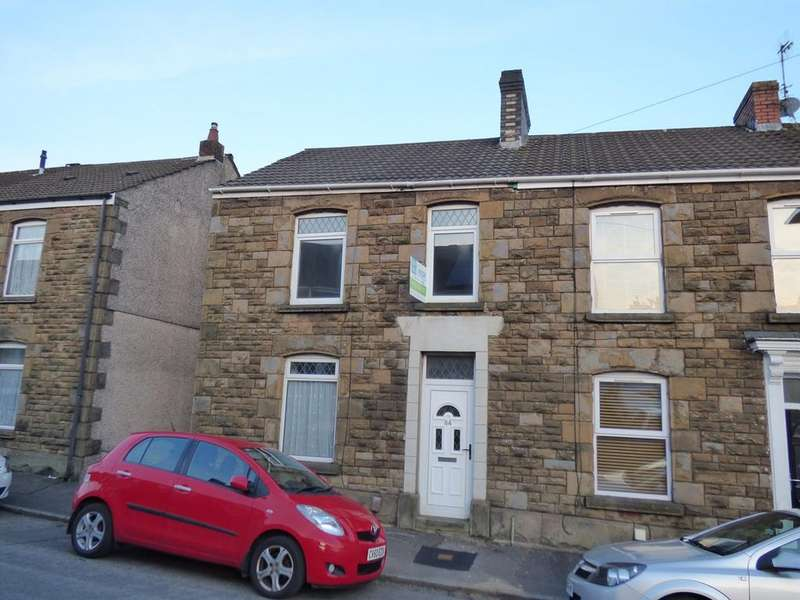 3 Bedrooms End Of Terrace House for sale in Springfield Street, Morriston, Swansea, SA6