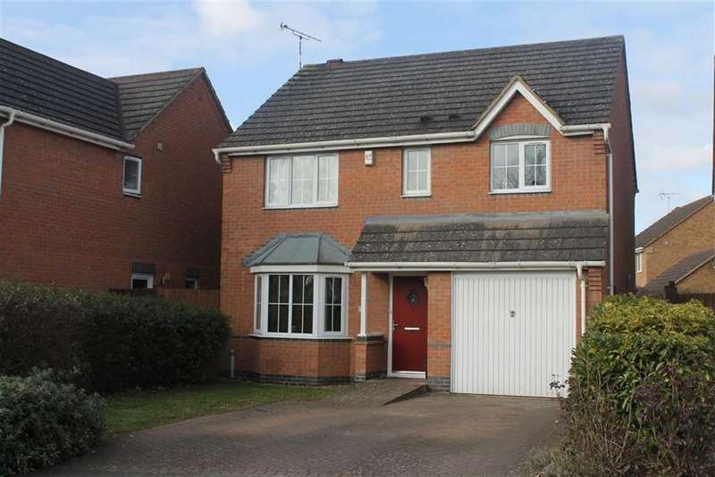 4 Bedrooms Detached House for sale in Douglas Bader Drive, Lutterworth, Leicestershire