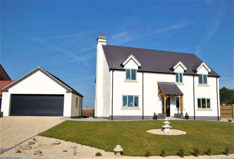 5 Bedrooms Detached House for sale in The Meadows, Ash Parva