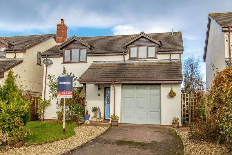 4 Bedrooms Property for sale in Barnshill Close Cheriton Fitzpaine, Crediton