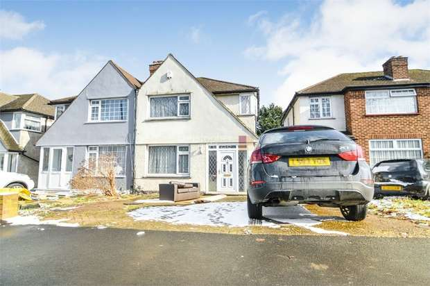 3 Bedrooms Semi Detached House for sale in Great Cambridge Road, ENFIELD, Middlesex