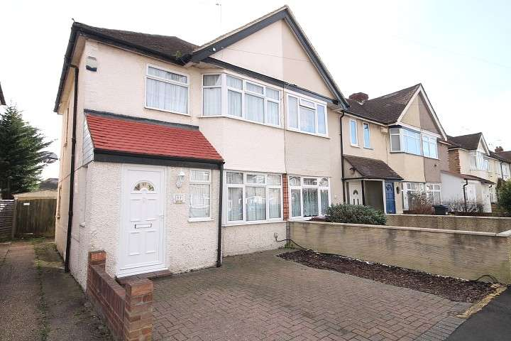 2 Bedrooms End Of Terrace House for sale in Ellington Road, Feltham, TW13