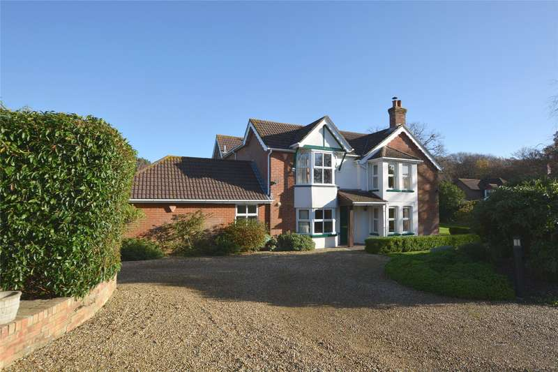 5 Bedrooms Detached House for sale in St Johns Road, Bashley, Nr New Milton, Hampshire, BH25