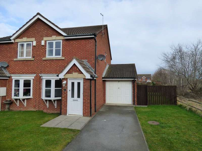 2 Bedrooms Semi Detached House for rent in Seaham Close, Redcar